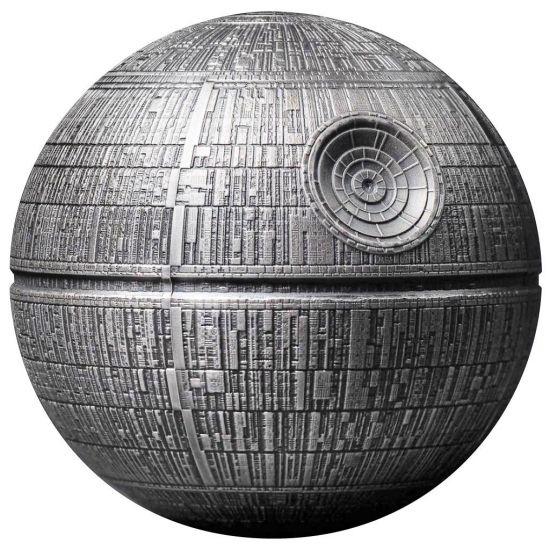 2021 Star Wars Death Star 3D Shape High Relief Antiqued 1 ...